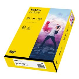 Kopierpapier tecno colors 18 A4 120g intensivgelb Intensivfarben (PACK=250 BLATT) Produktbild