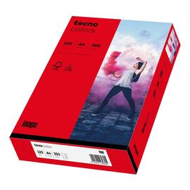 Kopierpapier tecno colors 28 A4 120g intensivrot Intensivfarben (PACK=250 BLATT) Produktbild