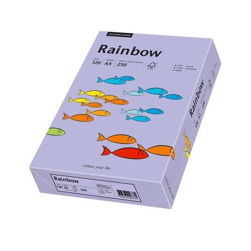Kopierpapier Rainbow Pastell 60 A4 120g violett 88042568 (PACK=250 BLATT) Produktbild Front View L
