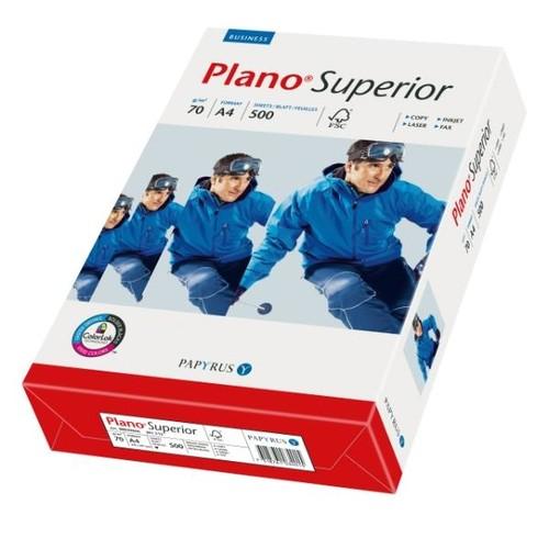 Kopierpapier PlanoSuperior Laser+Inkjet Office A4 70g weiß 88039666 (PACK=500 BLATT) Produktbild Front View L