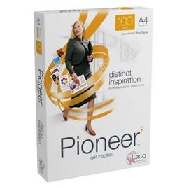 Kopierpapier Pioneer distinct inspiration A4 100g weiß holzfrei (PACK=250 BLATT) Produktbild