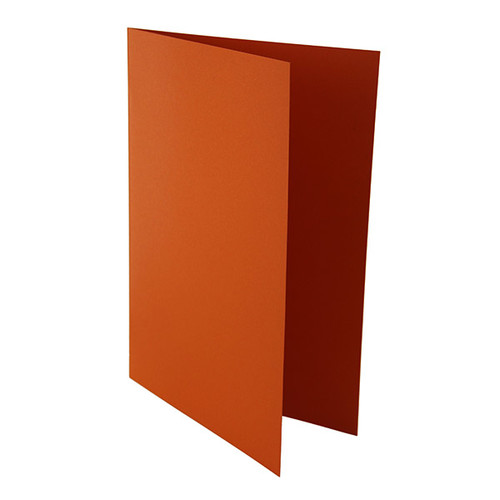 Aktendeckel C3/C4 gefalzt 250g orange Karton 80001282 Produktbild Front View L
