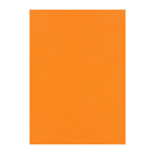 Karteikarton A4 250g orange holzfrei (PACK=200 BLATT) Produktbild Front View L