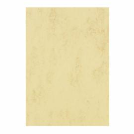 Marmorpapier A4 90g chamois/hellbraun (PACK=500 BLATT) Produktbild