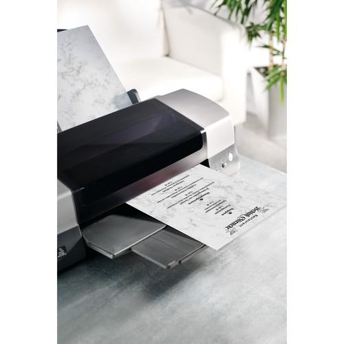 Marmor-Papier Inkjet+Laser+Kopier A4 90g grau Sigel DP371 (PACK=100 BLATT) Produktbild Additional View 3 L