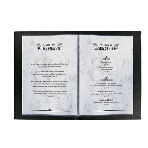 Marmor-Papier Inkjet+Laser+Kopier A4 90g grau Sigel DP371 (PACK=100 BLATT) Produktbild Additional View 2 L