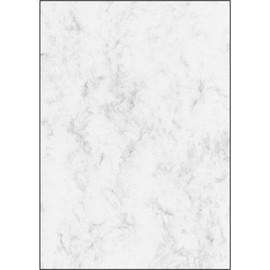 Marmor-Papier Inkjet+Laser+Kopier A4 200g grau Sigel DP396 (PACK=50 BLATT) Produktbild
