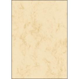 Marmor-Papier Inkjet+Laser+Kopier A4 90g beige Sigel DP372 (PACK=100 BLATT) Produktbild