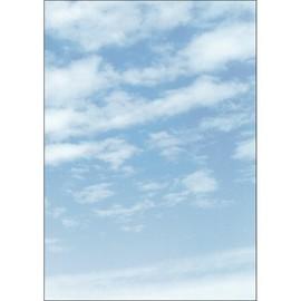 Motiv-Papier Inkjet+Laser+Kopier A4 90g Design Wolken Sigel DP565 (PACK=100 BLATT) Produktbild