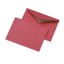 Briefumschlag ohne Fenster C6 114x162mm nassklebend 75g rot (PACK=1000 STÜCK) Produktbild