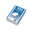 Briefumschlag ohne Fenster mit Seidenfutter C5 162x229mm nassklebend 90g weiß (PACK=500 STÜCK) Produktbild