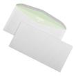 Kuvertierhülle ENVIRELOPE ohne Fenster 114x229mm außenliegende Seitenklappe nassklebend 80g hochweiß Recycling 103 (PACK=1000 STÜCK) Produktbild