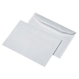 Kuvertierhülle ohne Fenster C5 162x229mm inneliegende Seitenklappe nassklebend 80g weiß (PACK=500 STÜCK) Produktbild
