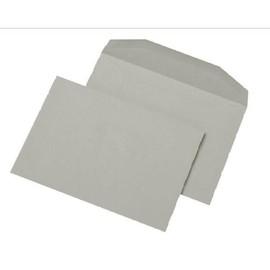 Kuvertierhülle ohne Fenster C5 162x229mm innenliegende Seitenklappe nassklebend 80g grau Recycling (PACK=500 STÜCK) Produktbild
