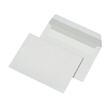 Briefumschlag ohne Fenster C6 114x162mm mit Haftklebung 80g weiß mit grauem Innendruck (PACK=1000 STÜCK) Produktbild