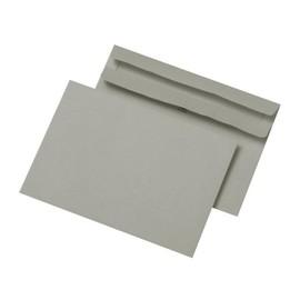Briefumschlag ohne Fenster C6 114x162mm selbstklebend 75g grau Recycling (PACK=1000 STÜCK) Produktbild