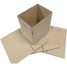 Wellpappe Graspapier Faltkarton braun 400 x 300 x 200mm / 1.30 B / FEFCO 0201 Produktbild