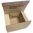 Wellpappe Graspapier Faltkarton braun 305 x 215 x 150mm / 1.30 B / FEFCO 0701 Produktbild