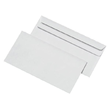Briefumschlag ohne Fenster DIN lang 110x220mm mit Haftklebung 80g weiß mit grauem Innendruck (PACK=1000 STÜCK) Produktbild Additional View 1 S
