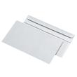 Briefumschlag selbstklebend weiß 75g/m2 DIN lang+ 125x229mm / ohne Fenster / mit grauem Innendruck (PACK=1000 STÜCK) Produktbild Additional View 1 S