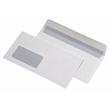 Briefumschlag mit Fenster DIN lang 110x220mm mit Haftklebung 75g weiß mit grauem Innendruck (PACK=1000 STÜCK) Produktbild