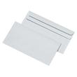 Briefumschlag selbstklebend weiß 75g/m2 DIN lang+ 125x235mm / ohne Fenster / (PACK=1000 STÜCK) Produktbild Additional View 1 S
