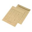 Versandtasche HAUSPOST mit 4 Sichtlöchern und Tabellendruck C4 229x324mm nassklebend 110g braun Natron (PACK=250 STÜCK) Produktbild