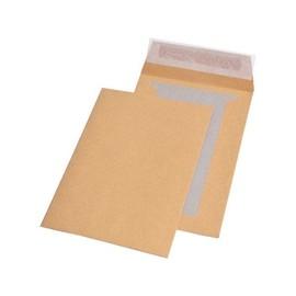 Versandtasche ohne Fenster mit Papprückwand C5 162x229mm mit Haftklebung 90g braun (PACK=250 STÜCK) Produktbild