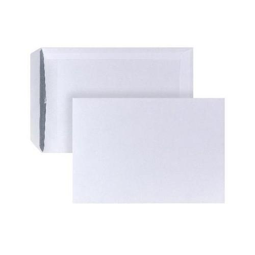 Versandtasche ohne Fenster C5 162x229mm selbstklebend 90g weiß mit grauem Innendruck (PACK=500 STÜCK) Produktbild