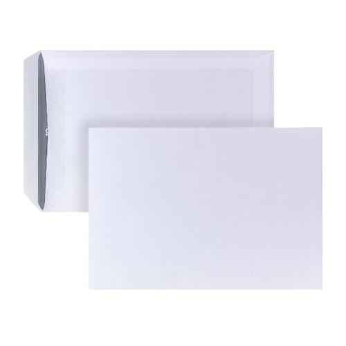 Versandtasche ohne Fenster C5 162x229mm selbstklebend 90g weiß mit grauem Innendruck (PACK=500 STÜCK) Produktbild Additional View 1 L
