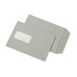 Versandtasche mit Fenster C5 162x229mm selbstklebend 80g grau Recycling (PACK=500 STÜCK) Produktbild