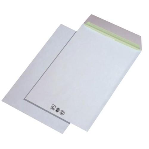 Versandtasche ENVIRELOPE ohne Fenster C4 229x324mm mit Haftklebung 90g hochweiß Recycling 103 ISO (PACK=250 STÜCK) Produktbild Additional View 1 L