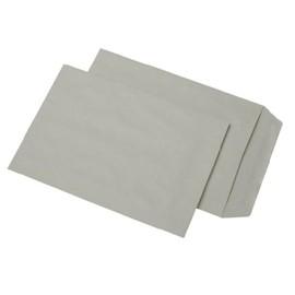 Versandtasche ohne Fenster C4 229x324mm selbstklebend 90g grau Recycling (PACK=250 STÜCK) Produktbild