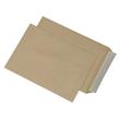 Versandtasche ohne Fenster B4 250x353mm mit Haftklebung 110g braun (PACK=250 STÜCK) Produktbild