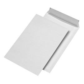 Versandtasche ohne Fenster B4 250x353mm mit Haftklebung 120g weiß mit grauem Innendruck (PACK=250 STÜCK) Produktbild