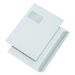 Versandhülle mit Fenster C4 229x324mm mit Haftklebung Öffnung an der breiten Seite 100g weiß (PACK=250 STÜCK) Produktbild
