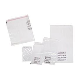LDPE Festverschlussbeutel transparent 400 x 600 + 50mm Klappe / 50µ (KTN=500 STÜCK) Produktbild
