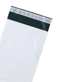 LDPE Textilversandtasche mit Festverschluss 400x500mm + 50mm Klappe 60my coex (KTN=500 STÜCK) Produktbild