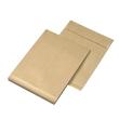 Faltentasche ohne Fenster B5 176x250x40mm mit Haftklebung 120g braun Natron (PACK=250 STÜCK) Produktbild Additional View 2 S