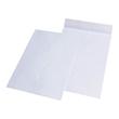 Faltentasche ohne Fenster C4 229x324x20mm mit Haftklebung 120g weiß mit grauem Innendruck (PACK=100 STÜCK) Produktbild