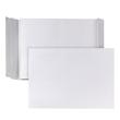 Faltentasche ohne Fenster C4 229x324x40mm mit Haftklebung 140g weiß (PACK=100 STÜCK) Produktbild Additional View 1 S