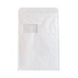 Luftpolsterversandtasche weiß / Fenster Arofol WIN / Typ 7 / IM: 230 x 340mm AM: 250 x 350mm (KTN=100 STÜCK) Produktbild