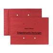 Freistemplertasche mit Druck und Sichtlöchern B4 250x353mm nassklebend 100g rot (PACK=250 STÜCK) Produktbild