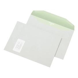 Kuvertierhülle ENVIRELOPE mit Fenster C4 229x324mm innenliegende Seitenklappe nassklebend 90g hochweiß Recycling103ISO (PACK=500 STÜCK) Produktbild