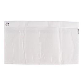 LDPE Begleitpapiertasche transparent DL 240 x 138mm / ohne Druck (PACK=250 STÜCK) Produktbild