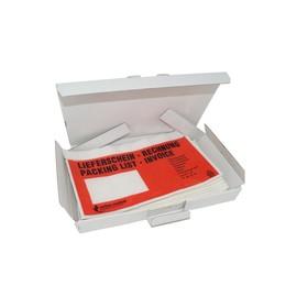 LDPE Begleitpapiertasche C6 175 x 138mm / Lieferschein-Rechnung (PACK=100 STÜCK) Produktbild