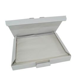 LDPE Begleitpapiertasche transparent C5 240 x 185mm / ohne Druck (PACK=100 STÜCK) Produktbild