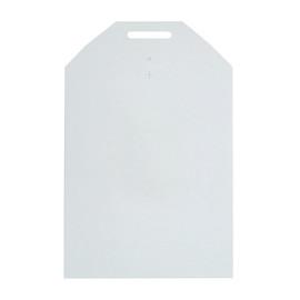 Vollpappe Versandtasche weiß A5+ AM: 215 x 270mm 2Z Zungenverschluss Produktbild