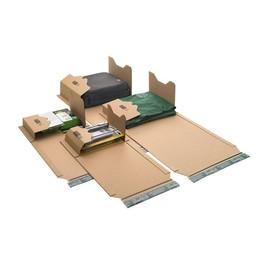 Wellpappe Universal-Versandverpackung A2 braun / IM: 620 x 420 x -54mm AM: 686 x 425 x -66mm / 419g/m² Produktbild