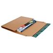 Wellpappe Universal-Versandverpackung CD braun / IM: 147 x 129 x -55mm AM: 198 x 135 x -63mm Produktbild Additional View 2 S